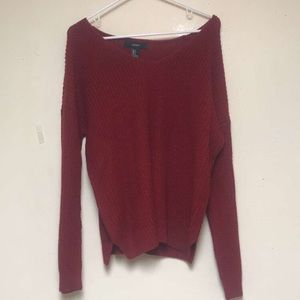 NWOT Red Knit Sweater